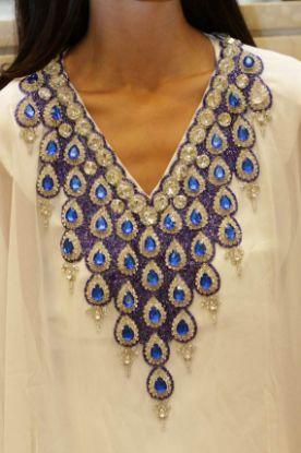 Picture of Arabian Elegant Party Wear Fancy Evening Caftan Long Sl,165