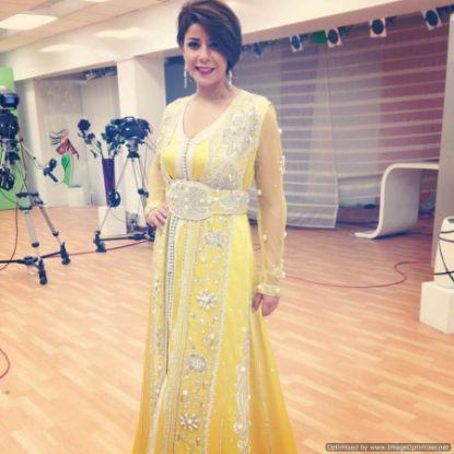 Picture of Arabian Elegant Party Wear Evening Kaftan Dress For Aus,F654