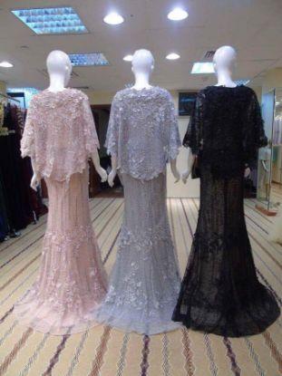 Picture of Arabian Elegant Wedding Gown Bridal Caftan Dress For Au,F960