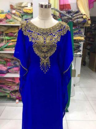 Picture of Arabian Elegant Wedding Gown Bridal Caftan Dress ,abay,F1698