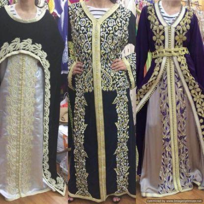 Picture of Abaya A Cut,Abaya A Dubai,Algerian Ladies Dress,abaya,,F2361