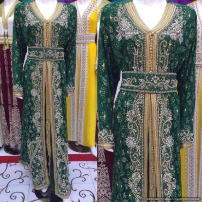 Picture of Algerian Dress 2015,Bridal Dress Topper,abaya,jilbab,k,F2889