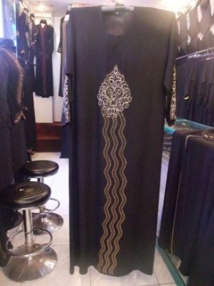 Picture of A Line Bridesmaid Dresses,abaya,jilbab,kaftan dress,du,F3172