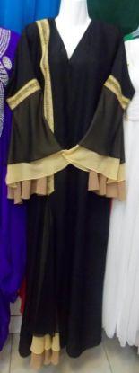 Picture of 2 Part Burka Design,Barkha Dutt,abaya,jilbab,kaftan dr,F4426