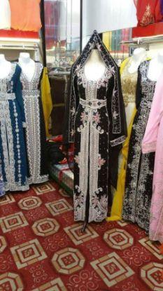Picture of 1 Utama Evening Dress,Kaftan Silk,abaya,jilbab,kaftan F5222
