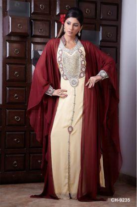 Picture of 2 In 1 Wedding Gowns,Kaftan Y Takchita,abaya,jilbab,kaftan