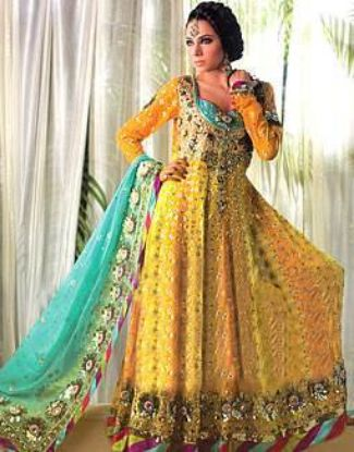 Picture of 1 Piece Amira Hijab,Jalabiya Embroidery,abaya,jilbab,kaftan