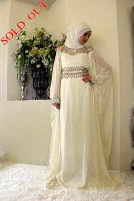 Picture of A Bridal Gown,abaya,jilbab,kaftan dress,dubai kaftan,morocc