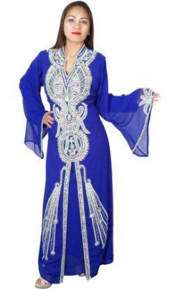 Picture of A Wedding Dress Blue,abaya,jilbab,kaftan dress,dubai kaftan