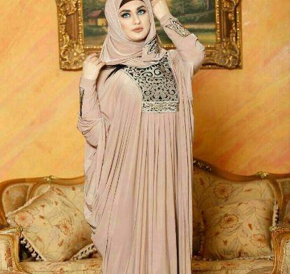 Picture of Black N Gold Evening Dresses,abaya,jilbab,kaftan dress,duba