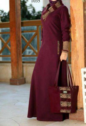 Picture of 1 Utama Evening Dress,Kaftan Silk,abaya,jilbab,kaftan dress
