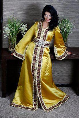 Picture of A Line Bridesmaid Dresses,abaya,jilbab,kaftan dress,dubai k