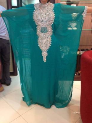 Picture of Alterations On A Bridesmaid Dress,abaya,jilbab,kaftan dress