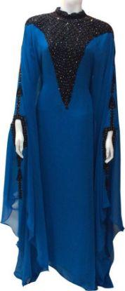 Picture of Abaya A Dubai,A Abaya Burka,Algerian Dress Traditional Inst