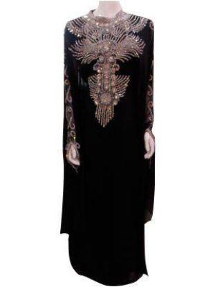 Picture of Abaya A Cut,Abaya A Dubai,Algerian Ladies Dress,abaya,jilba
