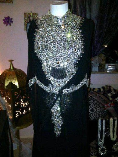 Picture of 2 Tone Bridesmaid Dresses,Dubai Kaftan Dress,abaya,jilbab,k