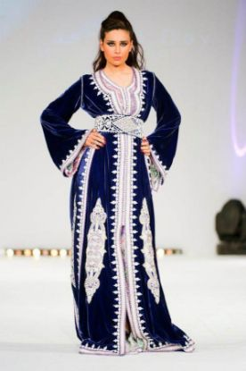 Picture of 2 Colour Abaya,Abaya 3D Model,abaya,jilbab,kaftan dress,dub
