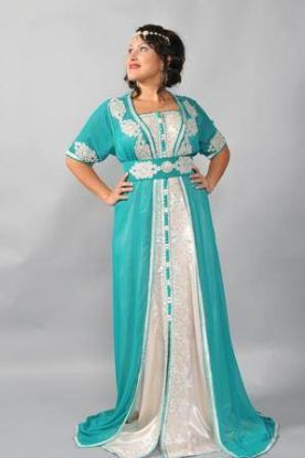 Picture of Arabian Party Wear Thobe With Exclusive Design Perfect For