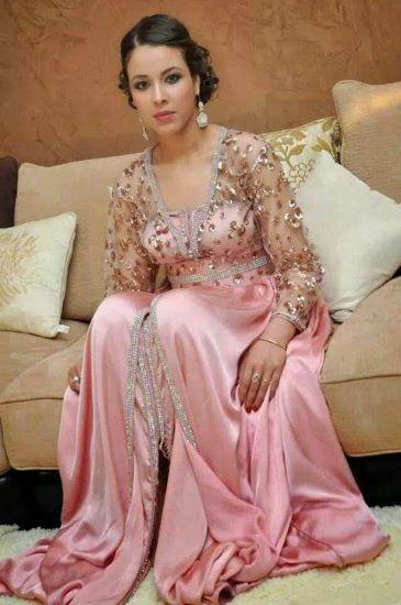 Picture of Exclusive Arabian Wedding Gown Takchita Kaftan Dress For Au