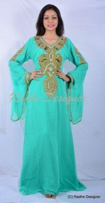 Picture of Arabian Elegant Wedding Gown Evening Kaftan Dress For Austr