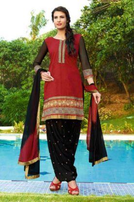 "Picture of ""Khaadi"" Pakistani Latest Desiger Dress + Dopata + Cigarett"