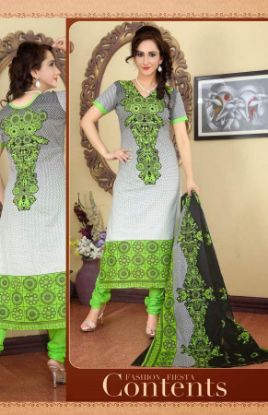 Picture of Indian Bollywood Designer Suit Pakistani Party Wear Dress S