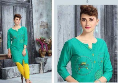 "Picture of ""Khaadi"" Pakistani Latest Desiger Dress + Dopata + Cigarett s1404"