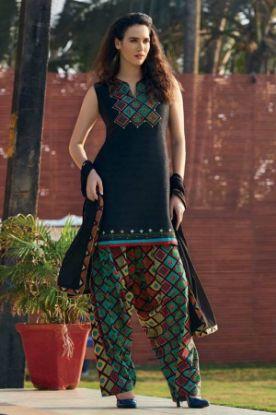 Picture of Anarkali Designer Orang Color Salwar Kameez Beautiful Styli