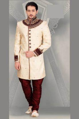 Picture of Aladdin Shoes Wedding Jooti Sherwani Khussa Groom Mojari Fl