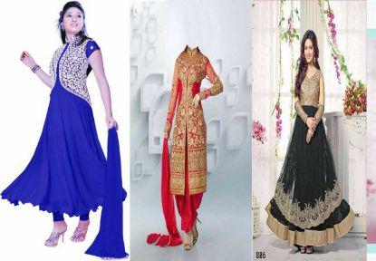 Picture of Bollywood Pakistani Suit Women Indian Ethnic Salwar Kameez s1770