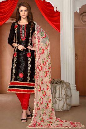 Picture of Bollywood Party Indian Anarkali Salwar Kamez Dress Designer s1772