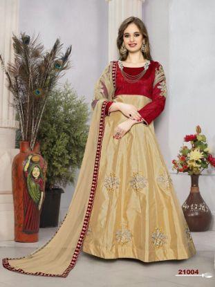 Picture of Bollywood Designer Indian Navratri Ethnic Partywear Lehenga