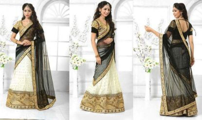 Picture of Beautiful Indian Ethnic Style Designer Red Lehenga Choli We