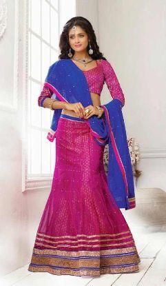 Picture of 3 piece bridal lehenga,lehenga saree blousechaniya choli,ch