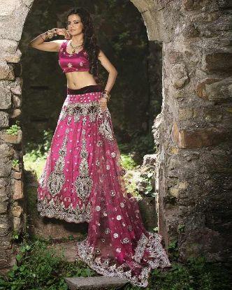 Picture of bridal dresses lehenga pakistani,top 5 lehengaschaniya chol