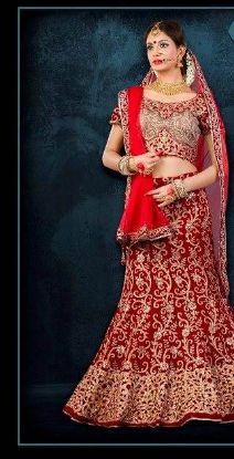 Picture of Arkita Trend Setter Lehenga Choli Style Georgette Sari Sare
