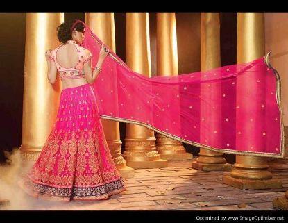 Picture of best pakistani bridal lehenga,lehenga size 48chaniya c,G4799