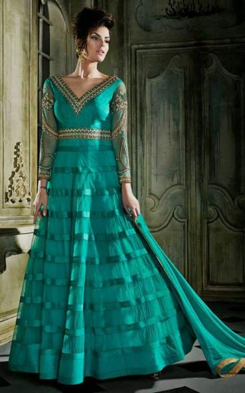 Picture of Ivorywhite Offshoulder Lace Aline Wedding Dress Brida,Q843