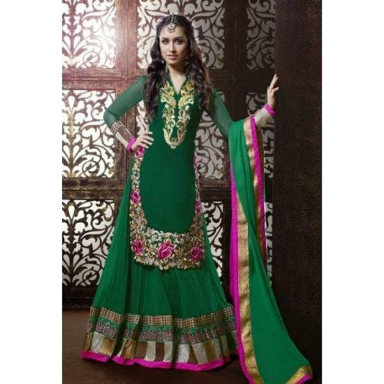 Picture of Ivorywhite Luxury Organza Mermaid Wedding Dresses App,Q852