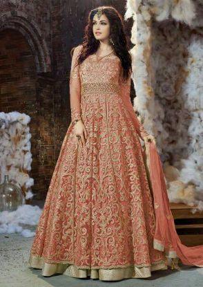 Picture of Ivorywhite Long Sleeves Mermaid Wedding Dress Bridal ,Q1357