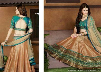 Picture of Gorgeous Mermaid Lace Applique Wedding Dresses Champa,Q5279