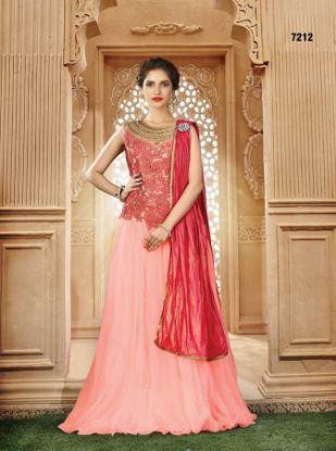 Picture of Luxury Wedding Dresses Crystal Beaded Stones Applique,Q2459