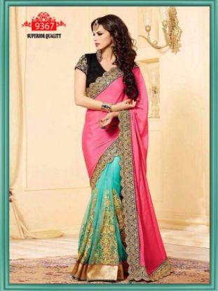 Picture of Angarika Rama Georgette Designer Party Wear Sari Saree