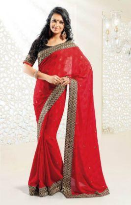 Picture of Golden Mangalgiri Handloom Heavy Silk Saree New Grand Pallu
