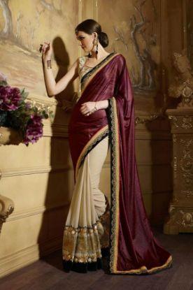 Picture of Angarika Rama Georgette Designer Party Wear Sari Saree,E7052