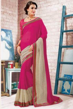 Picture of Indian Designer Sari Party Wear Saree,E7630