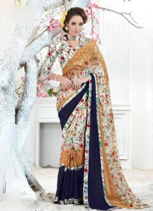 Picture of Amazing Bollywood Saree Indian Pakistani Fancy Fashion,E8230
