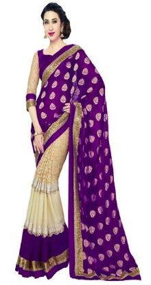 Picture of Pakistani Partywear Saree Festival Traditional Sari Bo,E8356