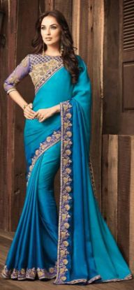 Picture of Vintage Abstract Printed Silk Saree Dress Making Multi,E9790