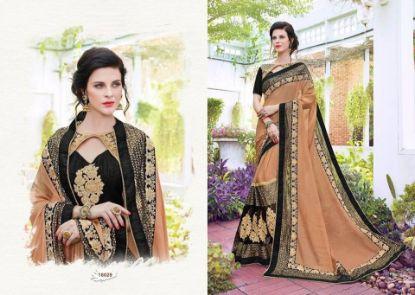Picture of Bandhani Style Sari Indian Ethnic Silk Blend Dress Pin,E10679